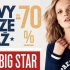 BIG STAR i przeceny do -70%