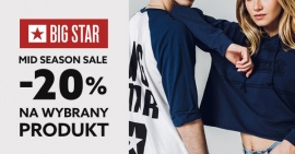 Mid season sale w BIG STAR JEANS.